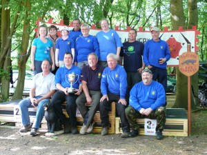 Members of Kings Forest Bowmen Archery Club